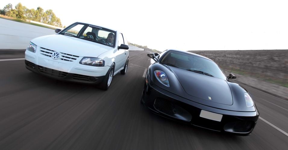 Ferrari x Gol